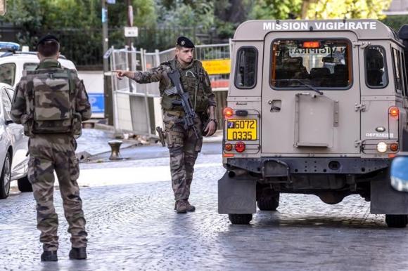 Ataque en París. Foto: EFE