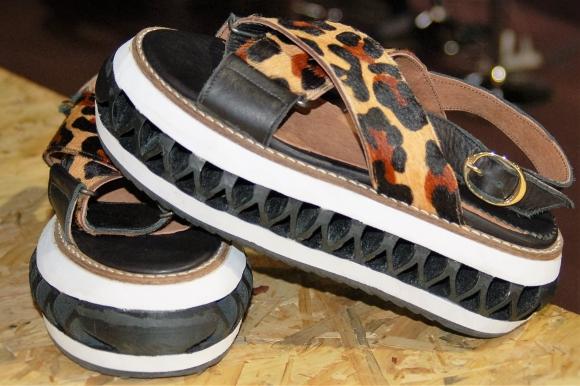Zona 3D. Se unió a diseñadores para crear una línea de zapatos. (Foto: Gentileza Zona 3D)