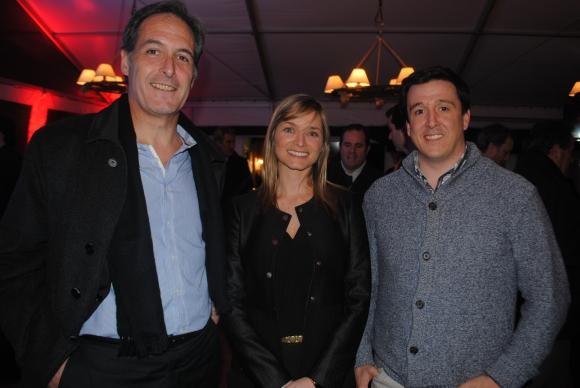 Javier Cabrera, Ana Basalo, Sebastián Sanguinetti.