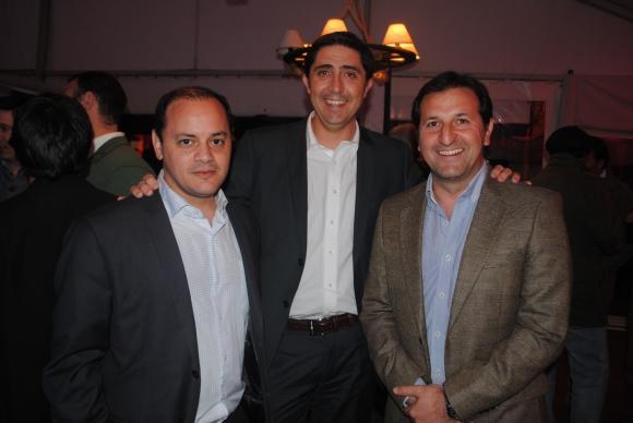 Martín Ramos, Federico Cordeiro, Horacio Corujo.