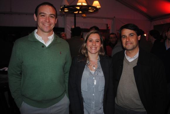 Rúben Olivera, Ana Banchero, Leonardo Pizzorno.