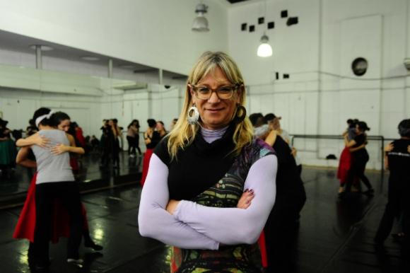 Alejandra Spinetti, coordinadora de Folklore de la Escuela del Sodre. (Foto: Marcelo Bonjour)