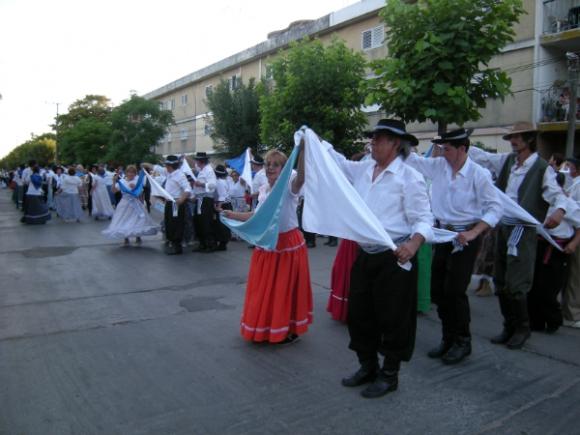 En Canelones se calcula que hay 1.400 bailarines folklóricos (Foto: Archivo El País)