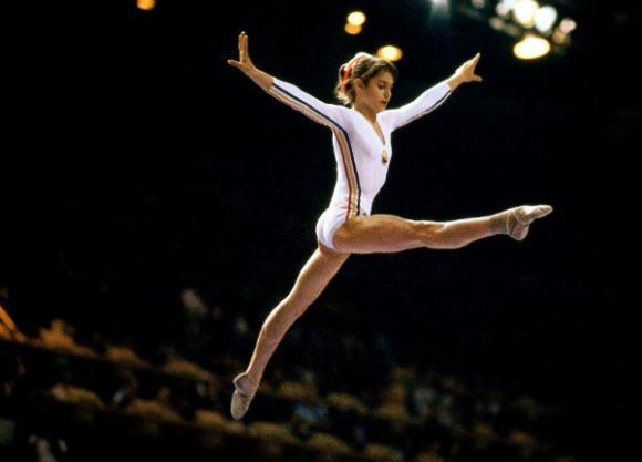 Nadia Comaneci, la estrella de la gimnasia.
