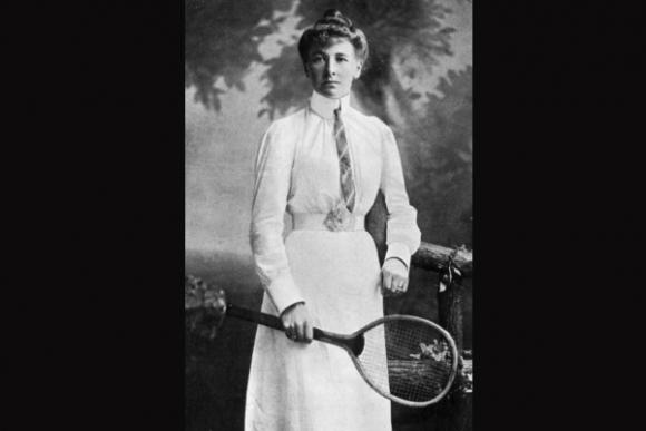 Charlotte Cooper, la primera campeona olímpica.