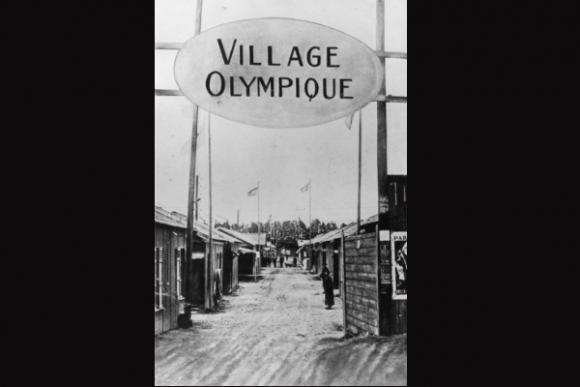 La primera villa olímpica, de 1924.