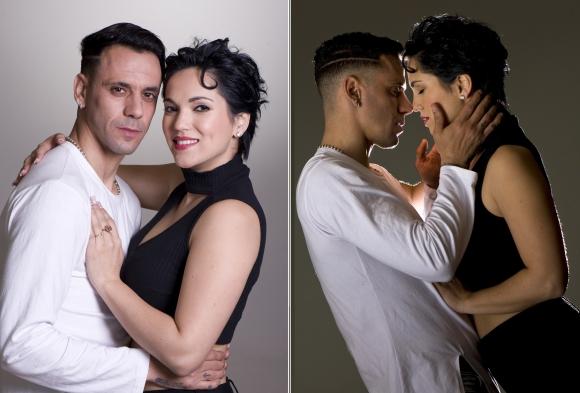 Lolo Estoyanoff y Majo Álvarez. Foto: Leo Mainé