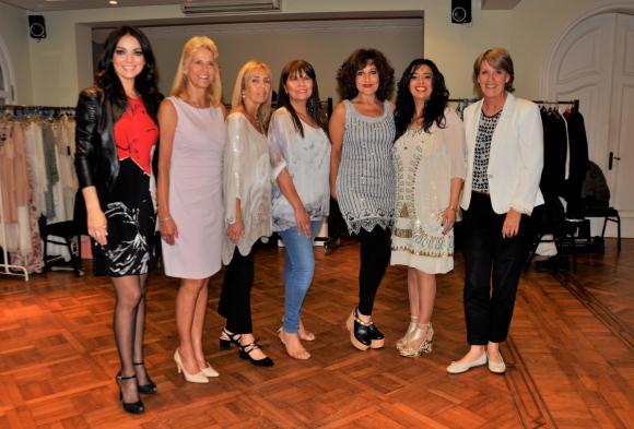 Victoria Zangraro, Patricia Couchet, Carmen Abal, María Inés Rodríguez, Carmen Morán, Carolina De Cunto, Isabel Fazzio.