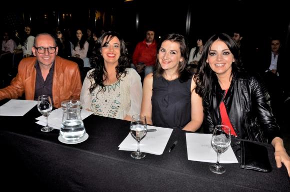 Leonel Aita Musi,  Carolina De Cunto, Valentina Rodríguez, Victoria Zangaro.