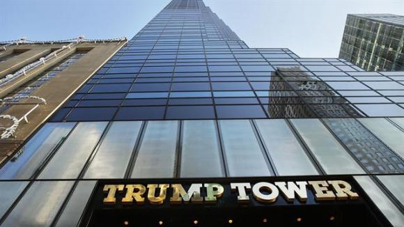 Trump Tower en Nueva York. Foto: AFP
