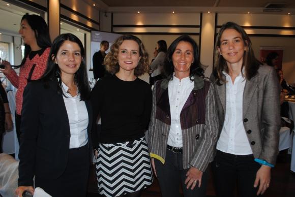Rosana Bomba, Gabriela Carvallo, Madelon Oddo, Rosina Taranco.