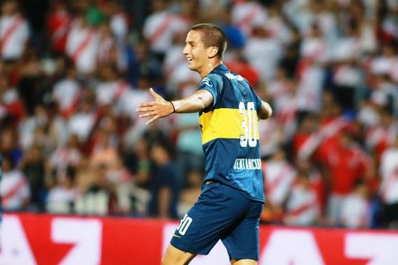 Rodrigo Bentancur en Boca Juniors. Foto: Archivo El País.