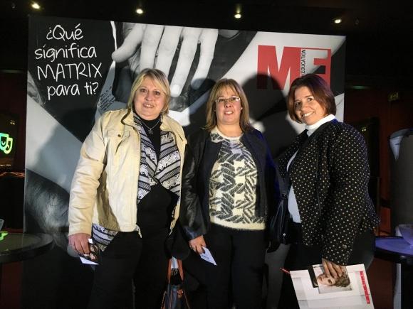Graciela Vignone, Mónica Arambulo, Rosario Abalo.