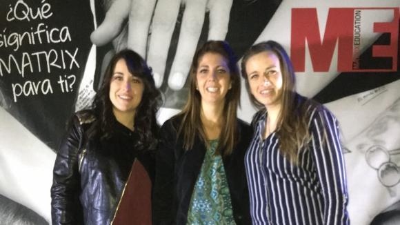 Valeria Caballero, Ana Paula García, Elisa Bonjour.