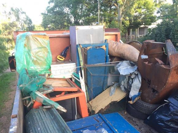 Jornada especial de recolección de grandes residuos. Foto: Facebook IMM