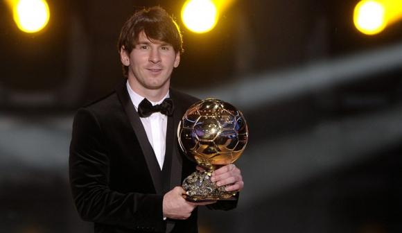 Messi recibió el segundo Balón de Oro en 2010