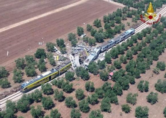 Accidente en el Sur de Italia. Foto: EFE