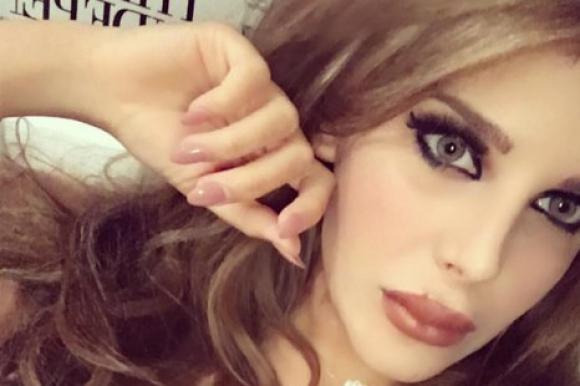 La selfie de Charlotte Caniggia con la que se mostró
