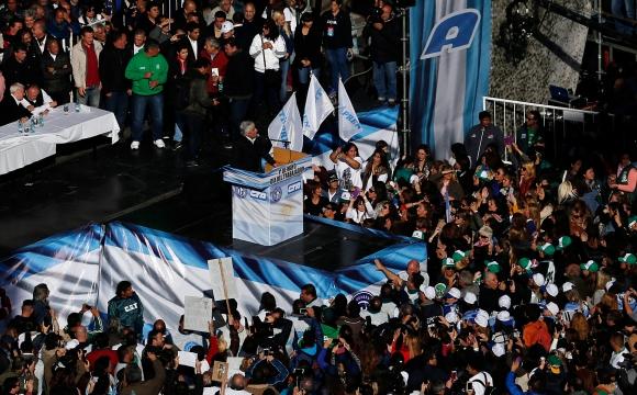 Protestas en Argentina. Foto: Reuters