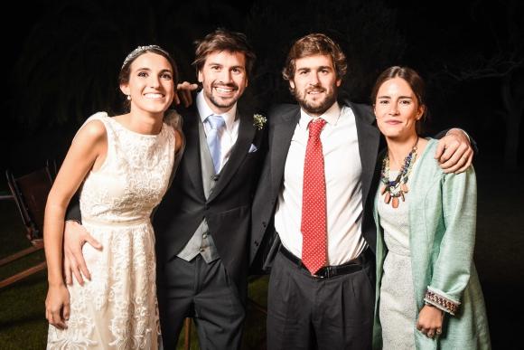 María Noel Pelayo, Nicolás garcía Pintos, Facundo Paladino, Magdalena Muzio.
