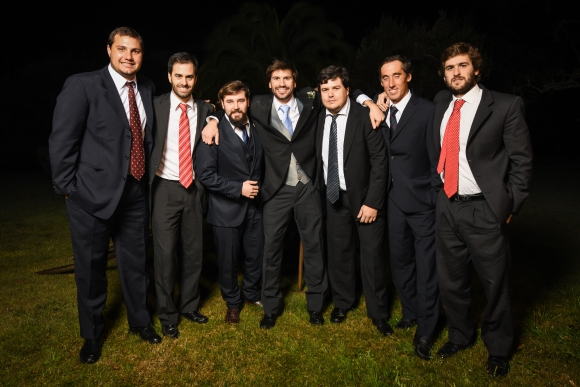 Sebastián Flaco, Felipe Verdier, Santiago Rodríguez, Nicolás García Pintos, Marcelo Roman, Francisco Arocena, Facundo Paladino.Foto: LR PRODUCCIONES.