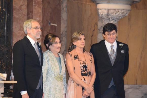 Tomás Pelayo, Virginia Delpoggio, María Inciarte, Gerardo García Pintos. Foto: LR PRODUCCIONES.