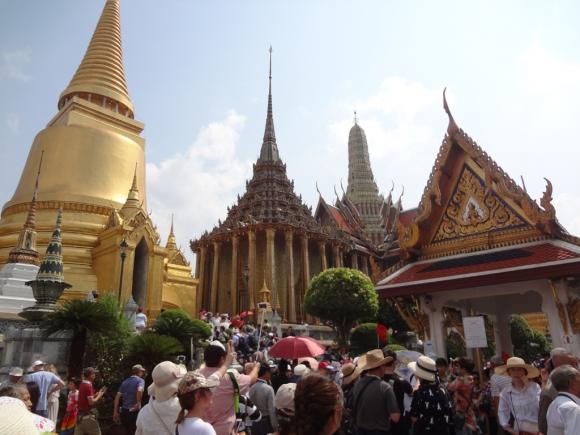 Con 20.000 visitantes por día el Palacio Real en Bangkok es el punto más visitado. Foto: Déborah Friedmann
