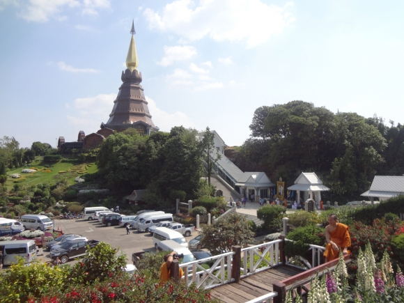 En Chiang Mai, las pagodas del rey y la reina. Foto: Déborah Friedmann