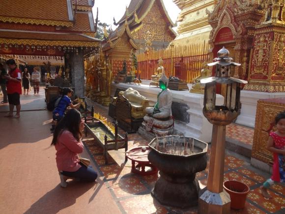 El 94,6% de los tailandeses practican el budismo. Foto: Déborah Friedmann