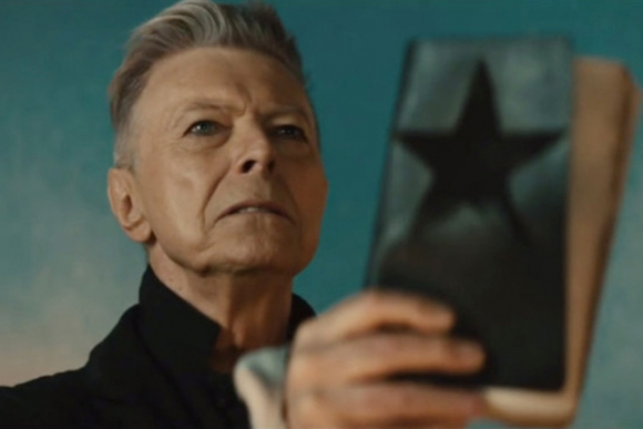 Una de las últimas fotos de un David Bowie maduro.