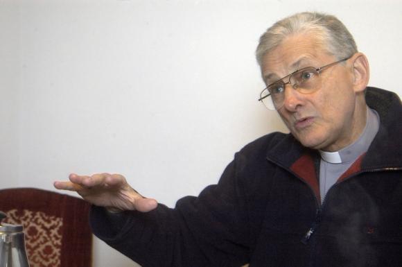Monseñor Pablo Galimberti. Foto: Archivo El País.