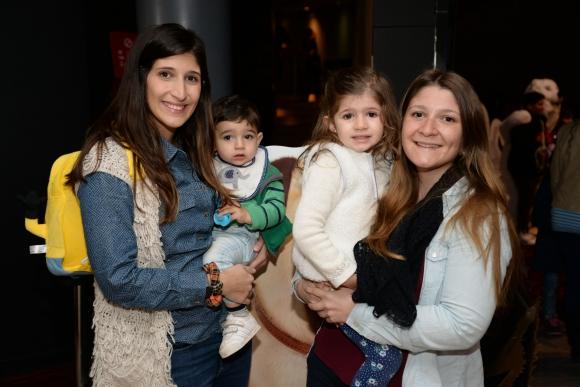 Carolina Pastorino, Juan Martin Juanena, Alfonsina Juanena, Giuliana Pastorino.