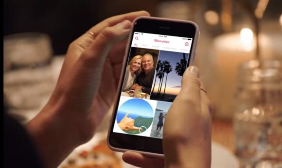 Memories, la nueva función de Snapchat. Foto: Captura