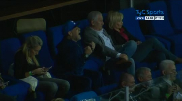 Diego Maradona en Zagreb - Copa Davis