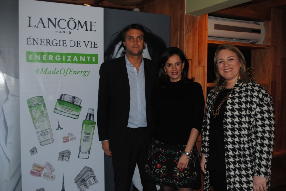 Hugo Riva, Mariana Almirón, Magdalena Mantras.