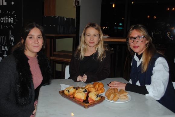 Virginia Falero, Agustina Pereira, Alexia Berthelemy.
