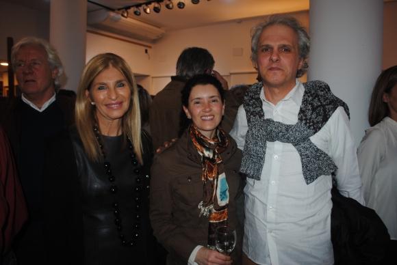 Claudia Piazzo, Ela Montiel, Adrián Merlino Vassallo.