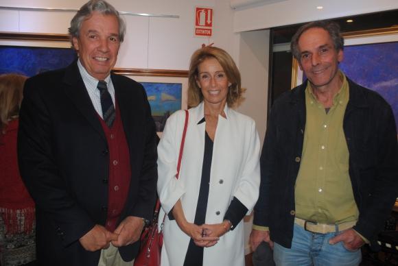 Mateo Campomar Brunet, Gabriela Peirano de Campomar, Ígnacio Amorim.