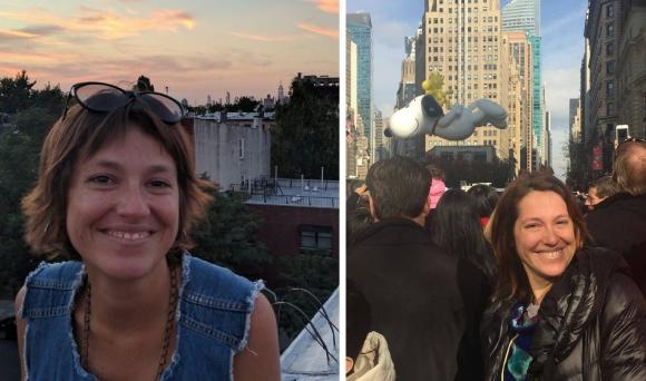 Camila Cibils en Nueva York.