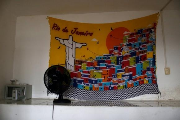 El hostal Favelinha. Foto: Reuters
