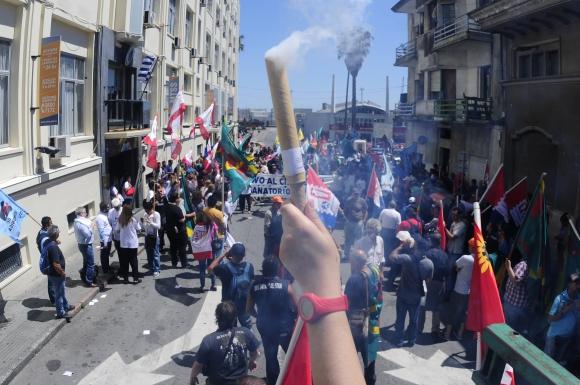 En marzo se registró un aumento de la conflictividad laboral. Foto: Ponzetto
