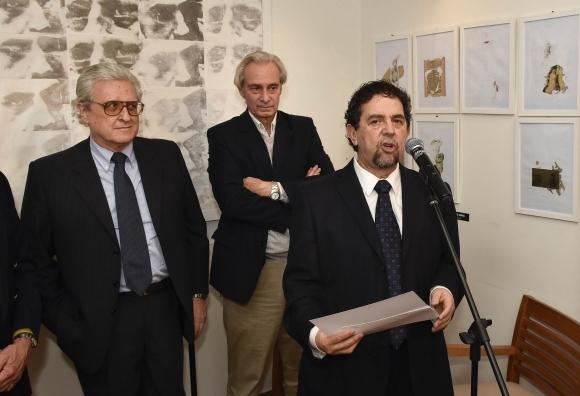 Alberto Faget, Juan Pablo Croce, Juan Antonio Echagüe.