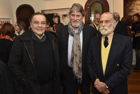 Jorge Traverso, Luis Hierro López, Jorge Abbondanza.