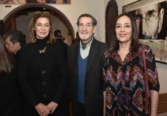 Sofía Herrán, Pablo Marks, Ligia Almitrán.