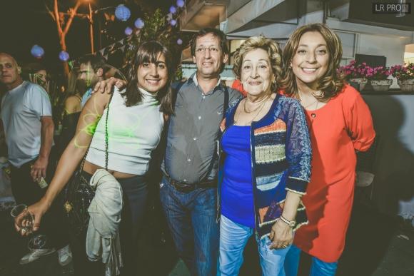 Mariana Medisaval, Marcelo Falero, Mariana Callejas, Patricia Falero.