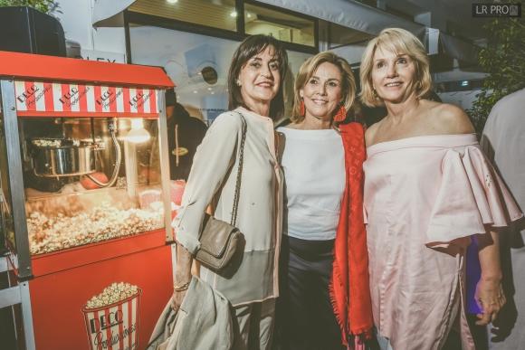 Mónica Torino, Paulina Baridon, Emily Carrere.