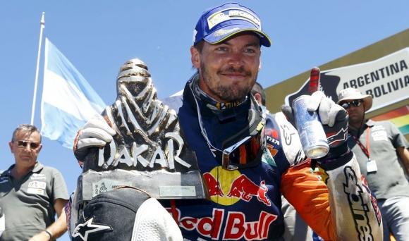 Toby Price. El sudafricano ganó en motos de punta a punta. Foto: Reuters