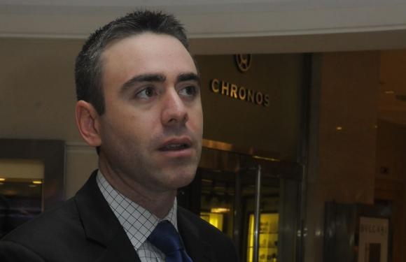 Jaime Reusche, analista de la calificadora Moody's. Foto: Ariel Colmegna