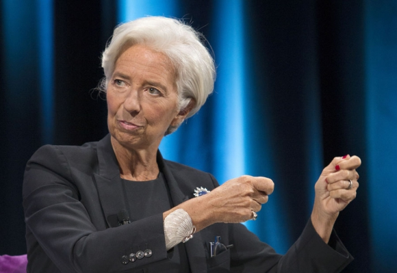 Christine Lagarde. Foto: AFP