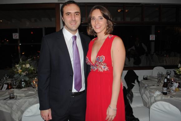 Javier Ferragut, Lucía González.